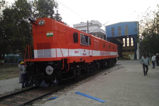 Indian Railways converts diesel locomotive to electric
