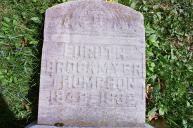 Headstone of Euruth Brockmire Thompson