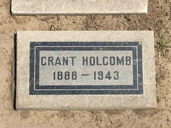 Grant Holcomb Sr 1888 - 1943 Find Grave Memorial