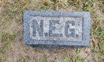 Headstone of Nellie E. Graves