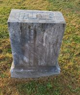 Headstone of Clara L. Rule