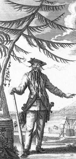 "Edward ""Blackbeard"" Teach (1680-1718) - Find A Grave Memorial"