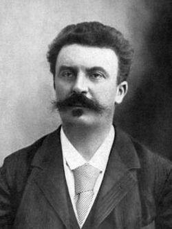 Photo De Guy De Maupassant : photo, maupassant, Maupassant, (1850-1893), Grave, Memorial
