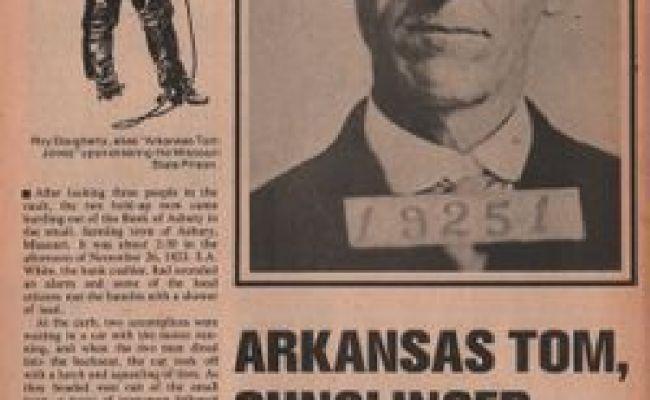 Roy Arkansas Tom Jones Daugherty 1870 1924 Find A