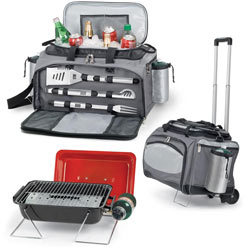 Ultimate Tailgating Cooler with Gas Grill