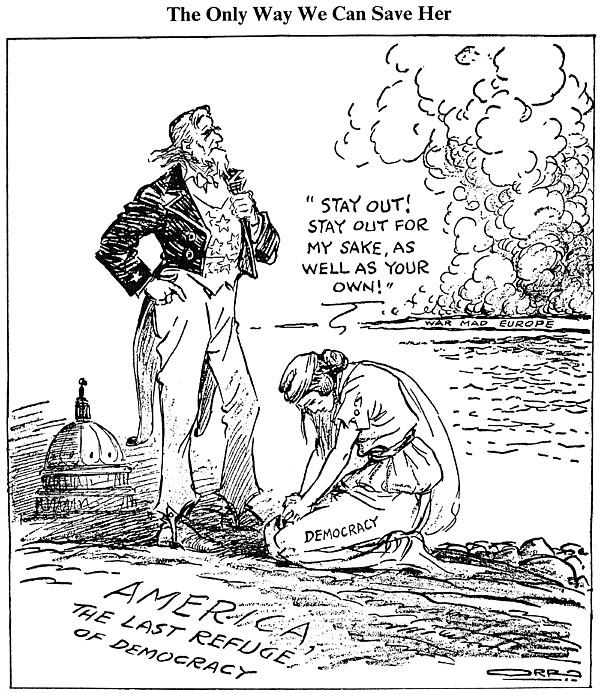 Cartoon: U.s. Intervention by Granger