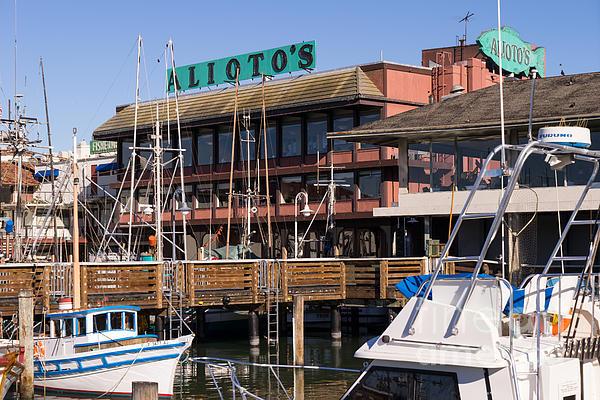 Restaurants Fishermans Wharf San Francisco California