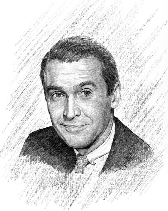 Jimmy Stewart by Lou Ortiz