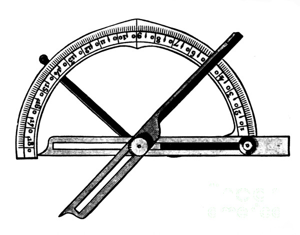 Manual Goniometer For Crystallography Print by Science Source