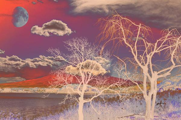 Immagini Natale 400 X 150 Pixel.25 Psychedelic Landscape 400 Pixels Pictures And Ideas On Pro Landscape