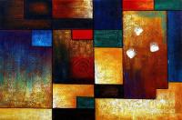 Abstract Oil Painting Modern Contemporary Art House Wall ...