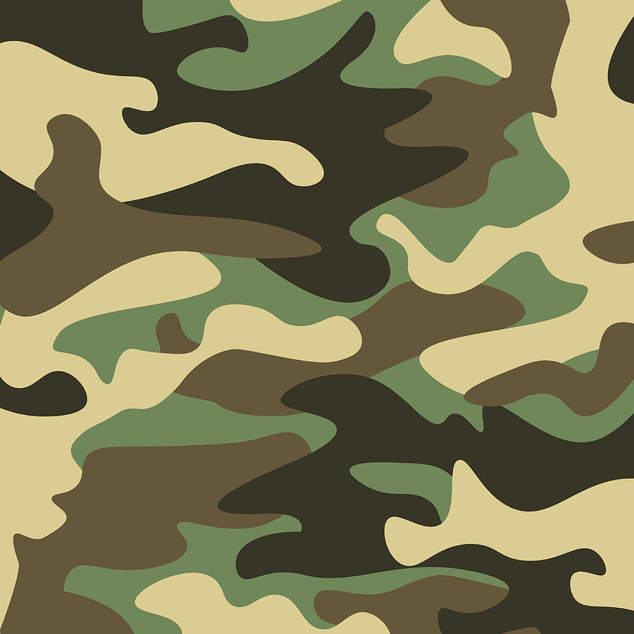 camouflage pattern background classic