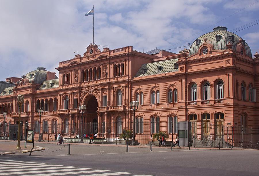 La Casa Rosada Buenos Aires Photograph by Venetia FeatherstoneWitty