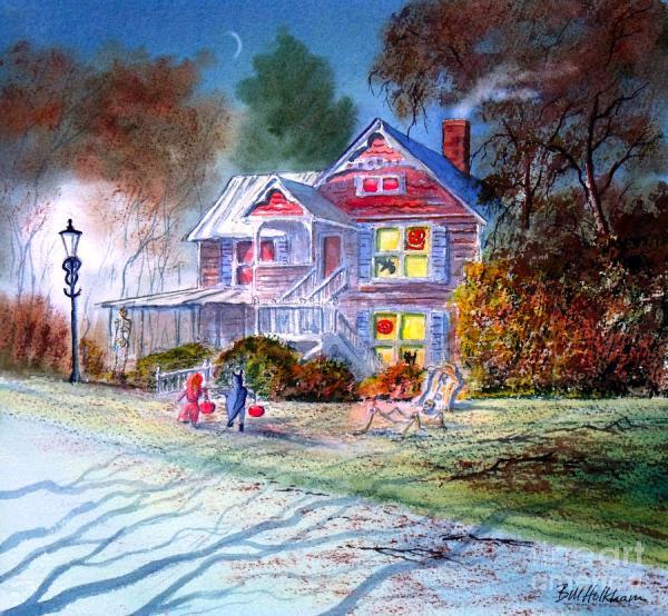 Trick or Treat Halloween Art Paintings