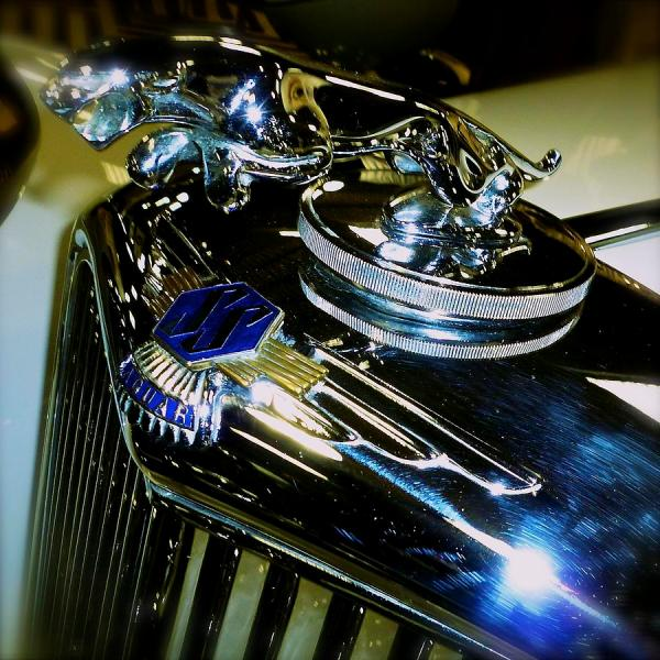 Jaguar Car Mascot John Colley