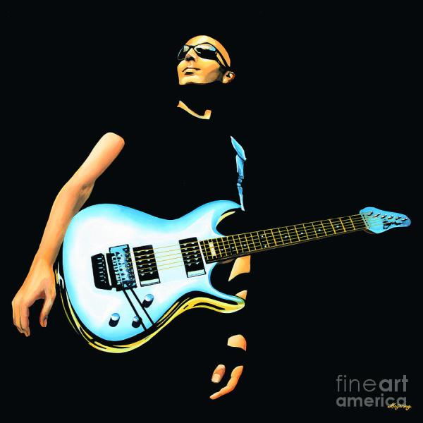 Joe Satriani Painting