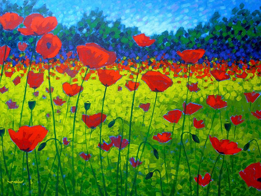 Image Result For Acrylic Painting Abstract Poppies