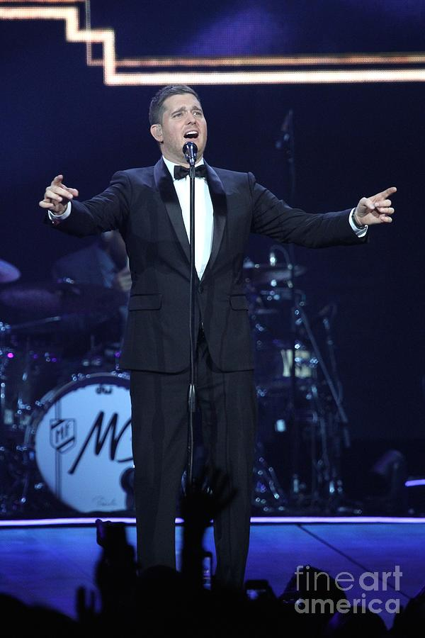 singer michael buble by
