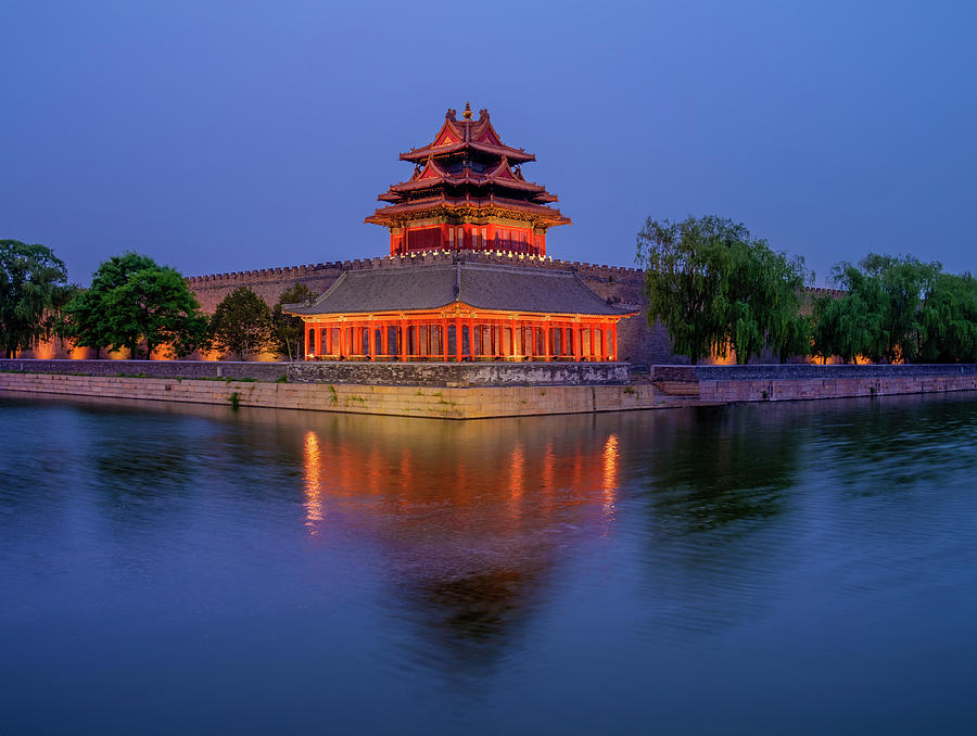 The Forbidden City. Beijing. China Photograph by Luis Castaneda Inc.