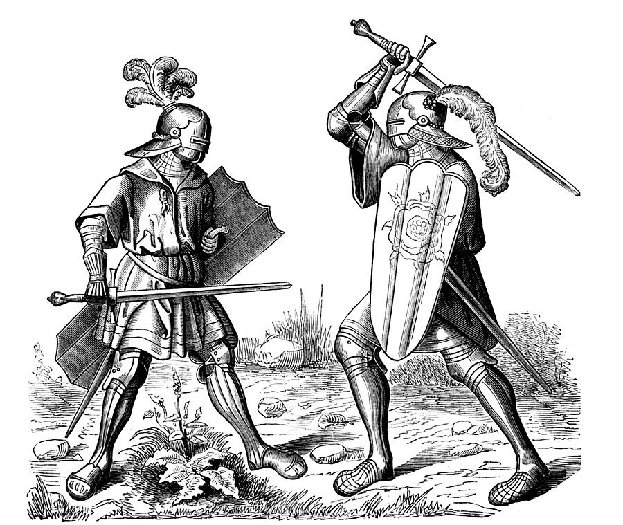 15th Century Knights Photograph by Collection Abecasis