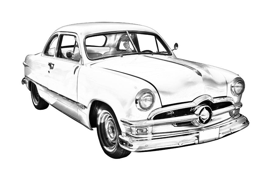 1950 Ford Wiring Diagram. Ford. Auto Wiring Diagram