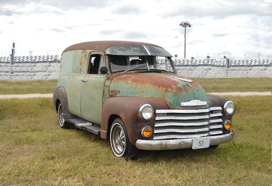 1953 Chevy Panel Van