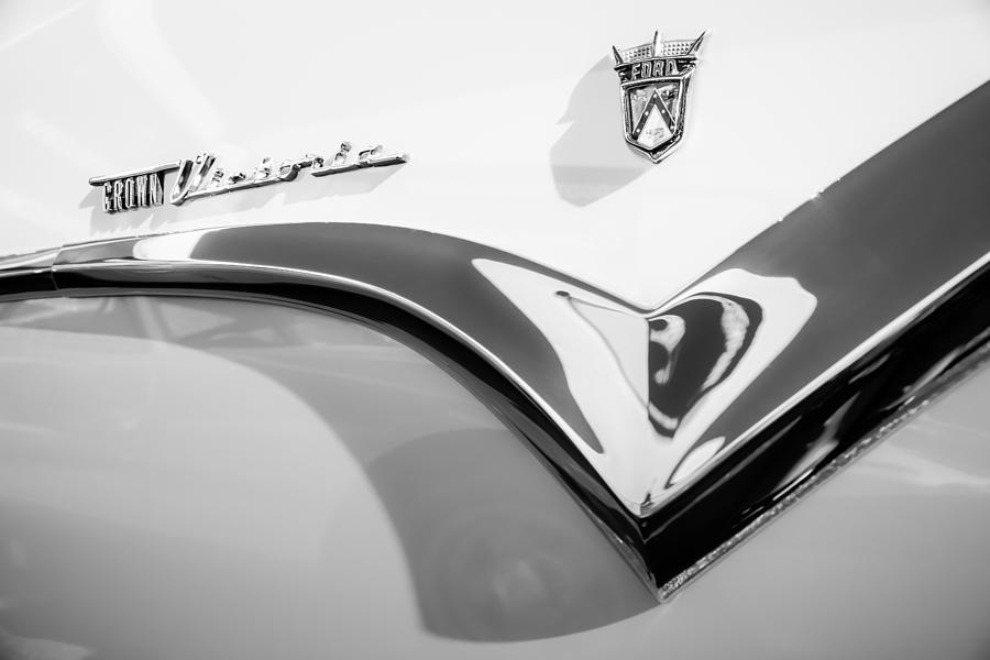 1955 Ford Crown Victoria Emblem