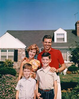 1960s Portrait Smiling Family Father Photograph by Vintage Images
