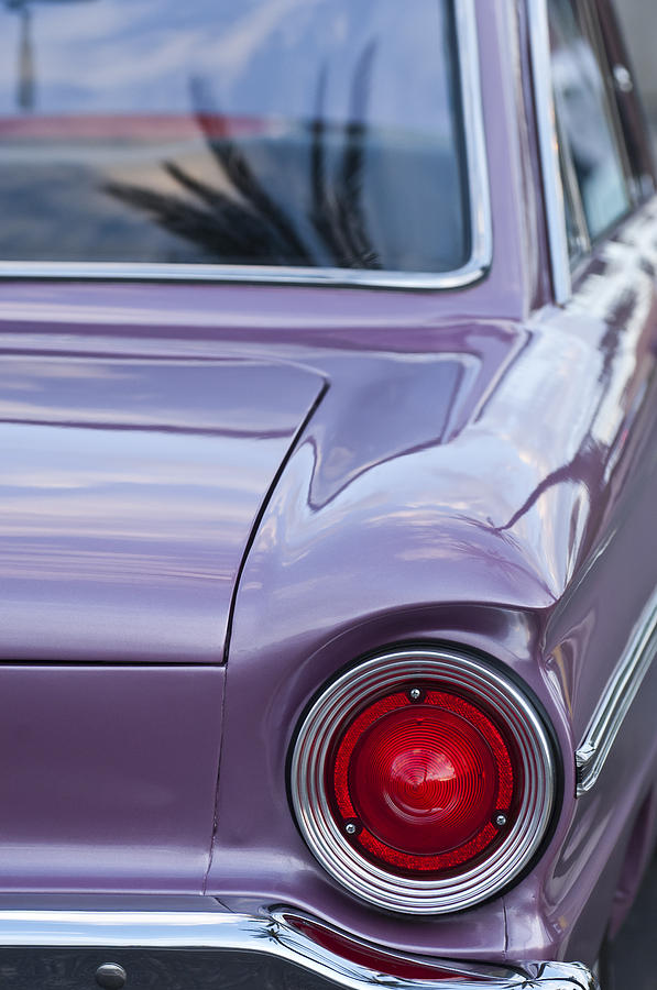1963 Ford Falcon Tail Light Photograph by Jill Reger