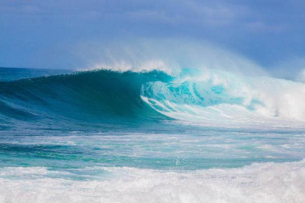 Big Wave At Pipeline Oahu North Shore Photograph by Joshua