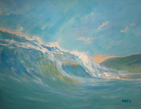 North Shore Oahu Painting by Jim Noel