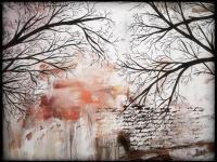 Tree Silhouette Painting On Wall | www.pixshark.com ...