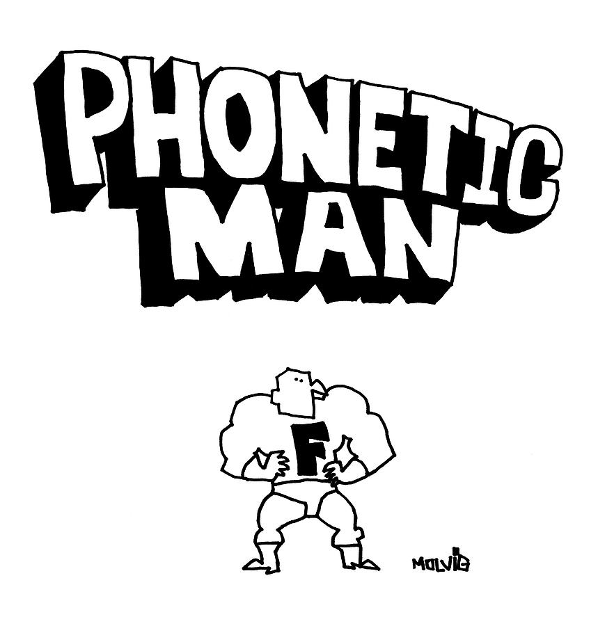 Phonetic Man by Ariel Molvig