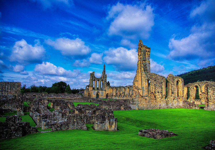 Byland Abbey Ruins Photograph by Trevor Kersley