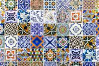 Hand Painted Portuguese Ceramic Tile Photograph by Andre ...