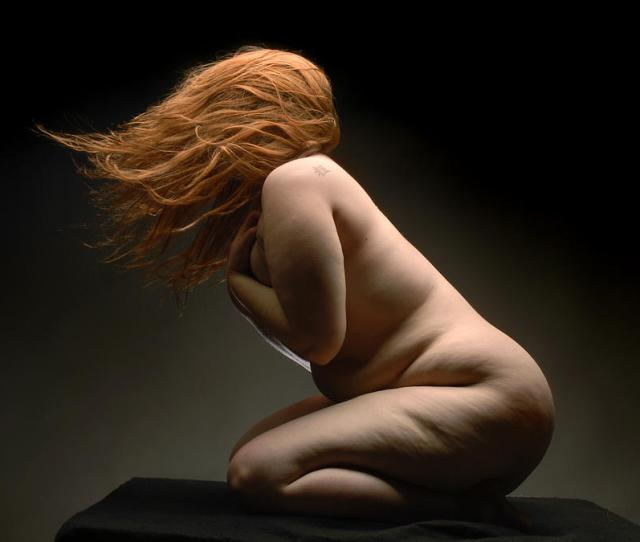 Red Hair Photograph 4521 Full Figured Nude By Chris Maher