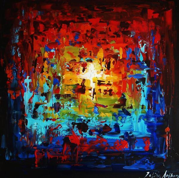 Abstract Painting Jolina Anthony