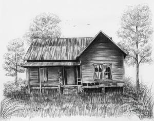 drawing pencil abandoned lena auxier drawings sketches charcoal barn sketch country draw painting landscape fineartamerica medium traditional tips sketching artist