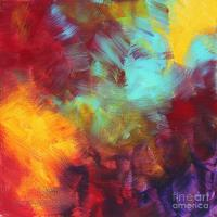 Abstract Original Painting Colorful Vivid Art Colors Of ...