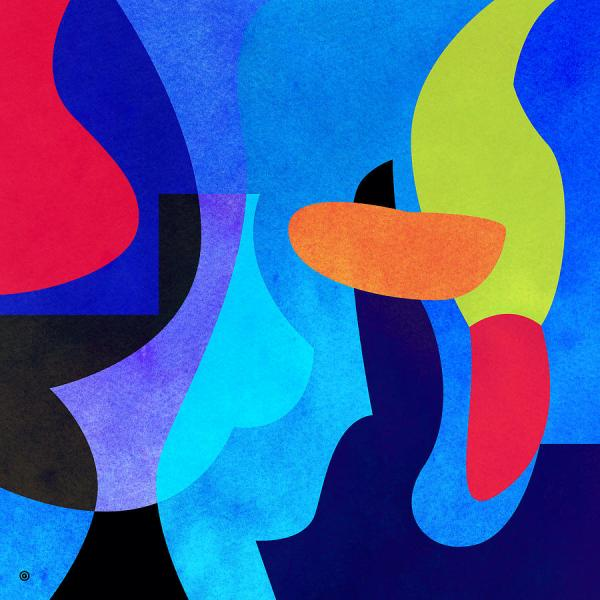 Abstract Shapes Digital Art Gary Grayson