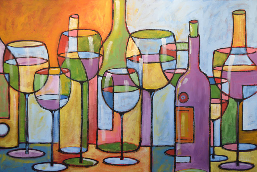 artwork for kitchen appliance consumer reviews abstract wine dining room bar art time to relax painting