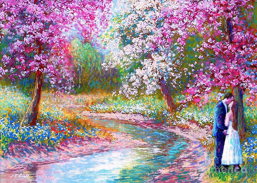 Abundant Love Painting by Jane Small