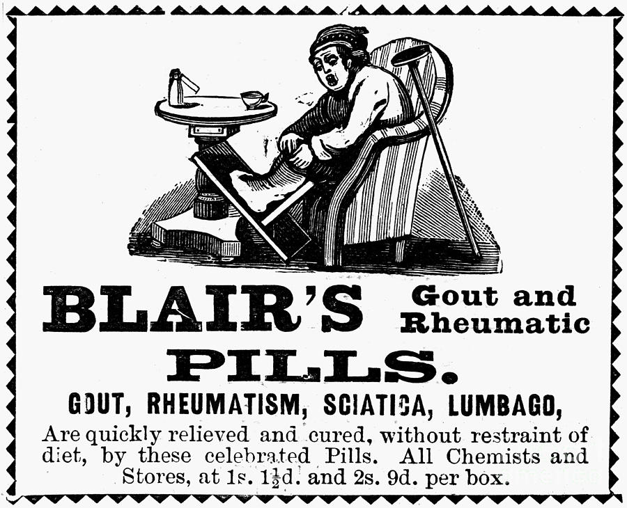 Ad: Patent Medicine, 1898 Photograph by Granger