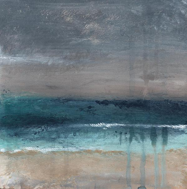 storm- abstract beach