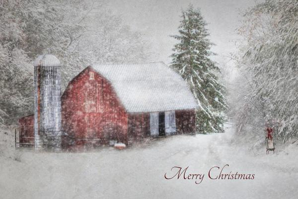 An Old Fashioned Merry Christmas Photograph by Lori Deiter