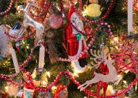 Antique Victorian Christmas Tree Decorations Christmas ...