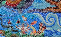 Aquatic Mosaic Tile Art Photograph by Tikvah's Hope