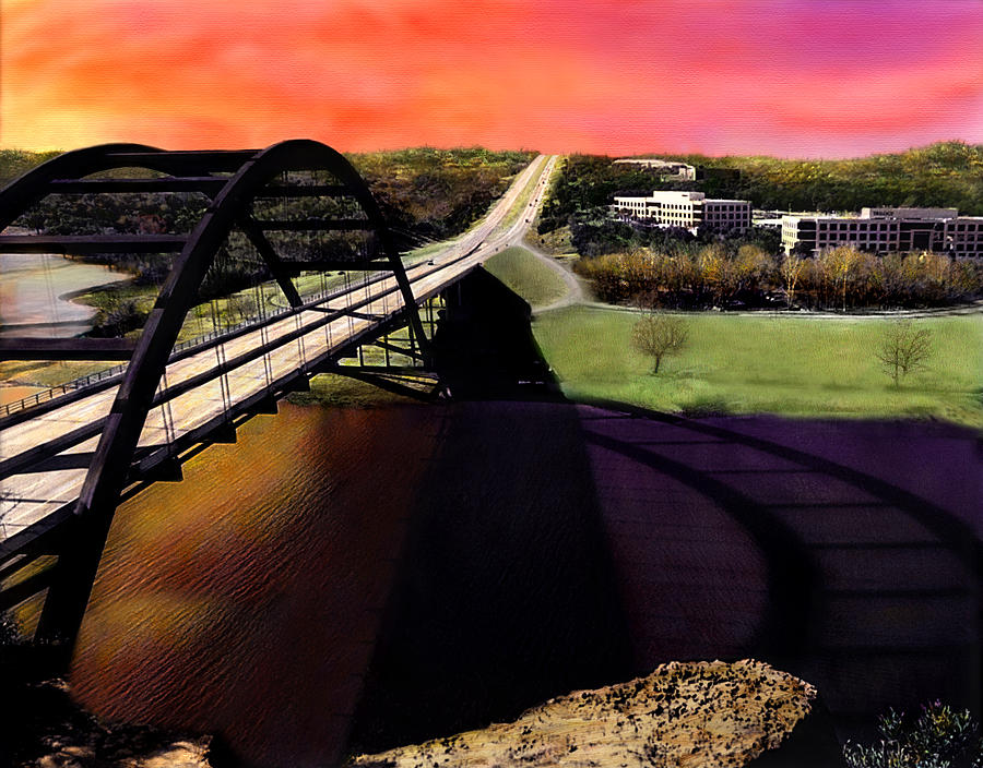 Austin 360 Bridge Photograph by Marilyn Hunt