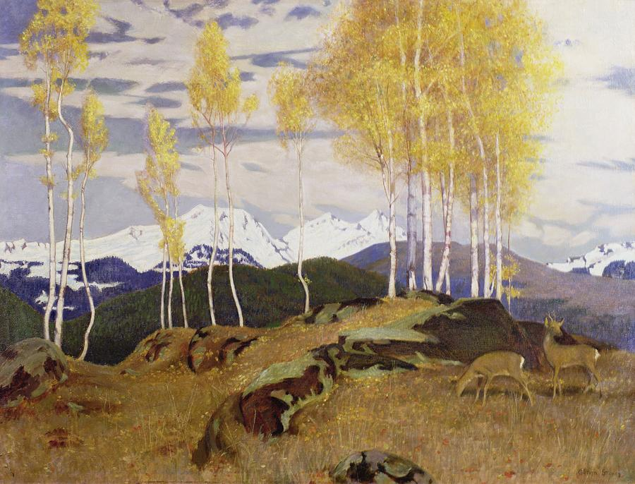 Image result for adrian scott stokes autumn in the mountains