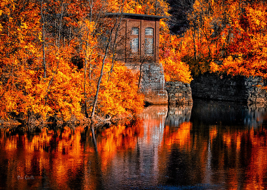New England Fall Themed Wallpaper Autumn Reflections Photograph By Bob Orsillo